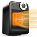 Deals List: TRUSTECH Portable Space Heater, Adjustable Thermostat 1500W