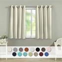 Deals List: Veeyoo 52-In x 45-In Beige 2 Panels Insulated Window Curtain