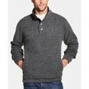 Deals List: Weatherproof Vintage Mens 1/2 Button Mock Snap Sweater