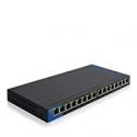 Deals List: Linksys Business LGS116P 16-Port Desktop PoE+ Ethernet Network