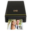 """Deals List: Kodak Mini Portable Mobile Instant Photo Printer - Wi-Fi & NFC Compatible - Wirelessly Prints 2.1 x 3.4"""" Images, Advanced DyeSub Printing Technology (Black) Compatible with Android & iOS"""