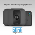 Deals List: Blink XT Home Security Camera System with Motion Detection, Wall Mount, HD Video, 2-Year Battery Life and Cloud Storage Included - 2 Camera Kit