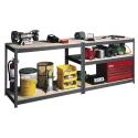Deals List: Edsal 60 in. H x 36 in. W x 18 in. D 4-Shelf Steel Shelving
