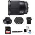 Deals List: Sigma 16mm f/1.4 DC DN Contemporary Lens for Sony E Bundle