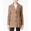 Deals List: Calvin Klein Wool-Cashmere Single-Breasted Peacoat