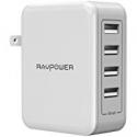 Deals List: RAVPower 40W 8A 4 Port Travel Charger