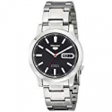 Deals List: Seiko SNK795 Series 5 Automatic Black Dial Mens Watch
