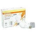 Deals List: SYLVANIA 71932 SW Zigbee Starter Kit, Includes: (1) A19 Soft White On/Off/DIM 60W & (1) Lightify Gateway, Color