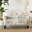 Deals List: Stain-Resistant Patchwork-Style Scalloped Printed Slipcovers