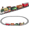 Deals List: Kids Electric Railway Train Track Toy Playset W Music Lights