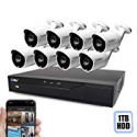 Deals List: Best Vision 16-Channel HD DVR Security System w/8 Cameras, 1TB Hard Drive