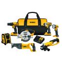 Deals List:  7-Tool DEWALT DCK720D2 20-Volt MAX Lithium Ion Cordless Combo Kit