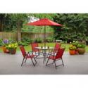 Deals List: Mainstays Albany Lane 6-Piece Folding Dining Set, Multiple Colors