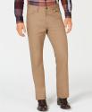 Deals List: Alfani Men's Regular-Fit Pants (4 colors available)