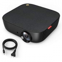 """Deals List: Nebula Capsule Smart Mini Projector, by Anker, Portable 100 ANSI lm High-Contrast Pocket Cinema with Wi-Fi, DLP, 360° Speaker, 100"""" Picture, Android 7.1, 4-Hour Video Playtime, and App"""