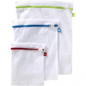 Deals List: 3-Piece Whitmor Color Coded Zippered Mesh Wash Bags