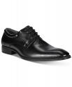 Deals List: Alfani Andrew Plain-Toe Derby Men's Oxford Shoes (black or dark tan)