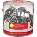 Deals List: Wilton Holiday Shapes Metal Cookie Cutter Set, 18-Piece