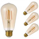 Deals List: 4-Pack GMY Lighting Vintage 4.5W Dimmable ST19 Amber LED Bulb