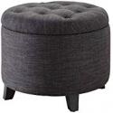 Deals List: Convenience Concepts Designs4Comfort Round Ottoman