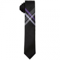 Deals List: DKNY Big Boys Plaid Cross-Hatch Necktie