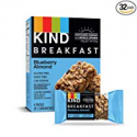 Deals List: KIND Breakfast Bars, Blueberry Almond, Gluten Free, 1.8oz, 32 Count
