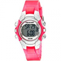 Deals List: Timex Women's Marathon 50m Digital Night Light Pink Resin Watch T5K808