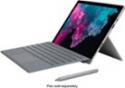 "Deals List: Microsoft - Surface Pro 6 - 12.3"" Touch-Screen - Intel Core i5 - 8GB Memory - 128GB SSD (Latest Model) - with Keyboard - Platinum, LJK-00001"