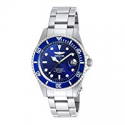 Deals List: Invicta Men's Pro Diver Quartz Watch with Stainless-Steel Strap, Silver, 9 (Model: 9204OB