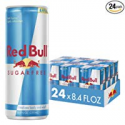 Deals List: Red Bull Energy Drink, Sugar Free, 24 Pack of 8.4 Fl Oz, Sugarfree (6 Pack of 4)