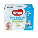 Deals List: Huggies One and Done Baby Wipes - Cucumber & Green Tea Scent - 336 ct