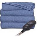 "Deals List: Sunbeam 60""x50"" Electric Heated Microplush Throw Blanket"