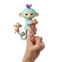Deals List: WowWee Fingerlings Baby Monkey & Mini BFFs - Danny & Gianna (Turquoise-Orange) 3544