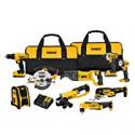 Deals List: DEWALT DCK940D2 20V MAX Lithium Ion 9-Tool Combo Kit