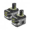 Deals List: 2-PK Ryobi 18V ONE+ Li-Ion HP 9.0 Ah High Cap. Battery P168