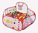 Deals List: Kids Ball Pit Ball Tent Toddler Ball Pit with Basketball Hoop