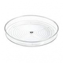Deals List: InterDesign Linus Lazy Susan Cabinet Turntable - Organizer Tray for Kitchen Pantry or Countertops - 9, Clear