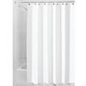 Deals List: InterDesign Waterproof Mold and Mildew-Resistant Fabric Shower Curtain, 72-Inch by 84-Inch, White