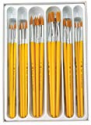Deals List: Royal Brush 1289617 RCVP-101 Taklon Hair Classroom Value Pack, Assorted Size (Pack of 30)