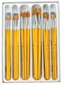 Deals List: Royal Brush 1289617 RCVP-101 Taklon Hair Classroom Value Pack, Assorted Size (Pack of 30)