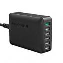 Deals List: RAVPower 60W Quick Charge 3.0 6-Port Desktop Charger
