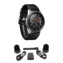 Deals List: BUNDLE Samsung Galaxy Bluetooth Watch 46mm Silver SM-R800NZSCXAR