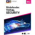 Deals List: Bitdefender Total Security 2019 (5-Device) (1-Year Subscription) - Android|Mac|Windows|iOS