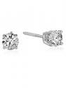 Deals List: 1/2 cttw Diamond Stud Earrings 14K White Gold