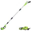 Deals List: Greenworks 20672 8.5' 40V Cordless Pole Saw w/ 2.0 AH Battery