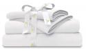"""Deals List: Organic Cotton Bed Sheets Set - 500TC Queen Size Ultra White - 4 Piece Bedding - 100% GOTS Certified Extra Long Staple, Soft Sateen Weave Bedsheets - Fits 15"""" Deep Pocket Mattress"""
