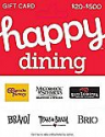Deals List:  $50 Happy Gift Card