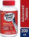 Deals List: Glucosamine & Chondroitin Advanced Joint Health Supplement Tablets, Move Free (200 count in a bottle), Supports Mobility, Flexibility, Strength, Lubrication and Comfort