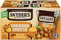 Deals List: Snyder's of Hanover Pretzel Sandwiches, Cheddar Cheese, Single-Serve 1 Ounce, 30 Count