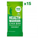 Deals List: HEALTH WARRIOR Chia Bars, Coconut, Gluten Free, Vegan, 25g bars, 15 Count